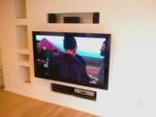 manchester tv wall mounting